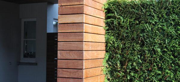 houtenmuur